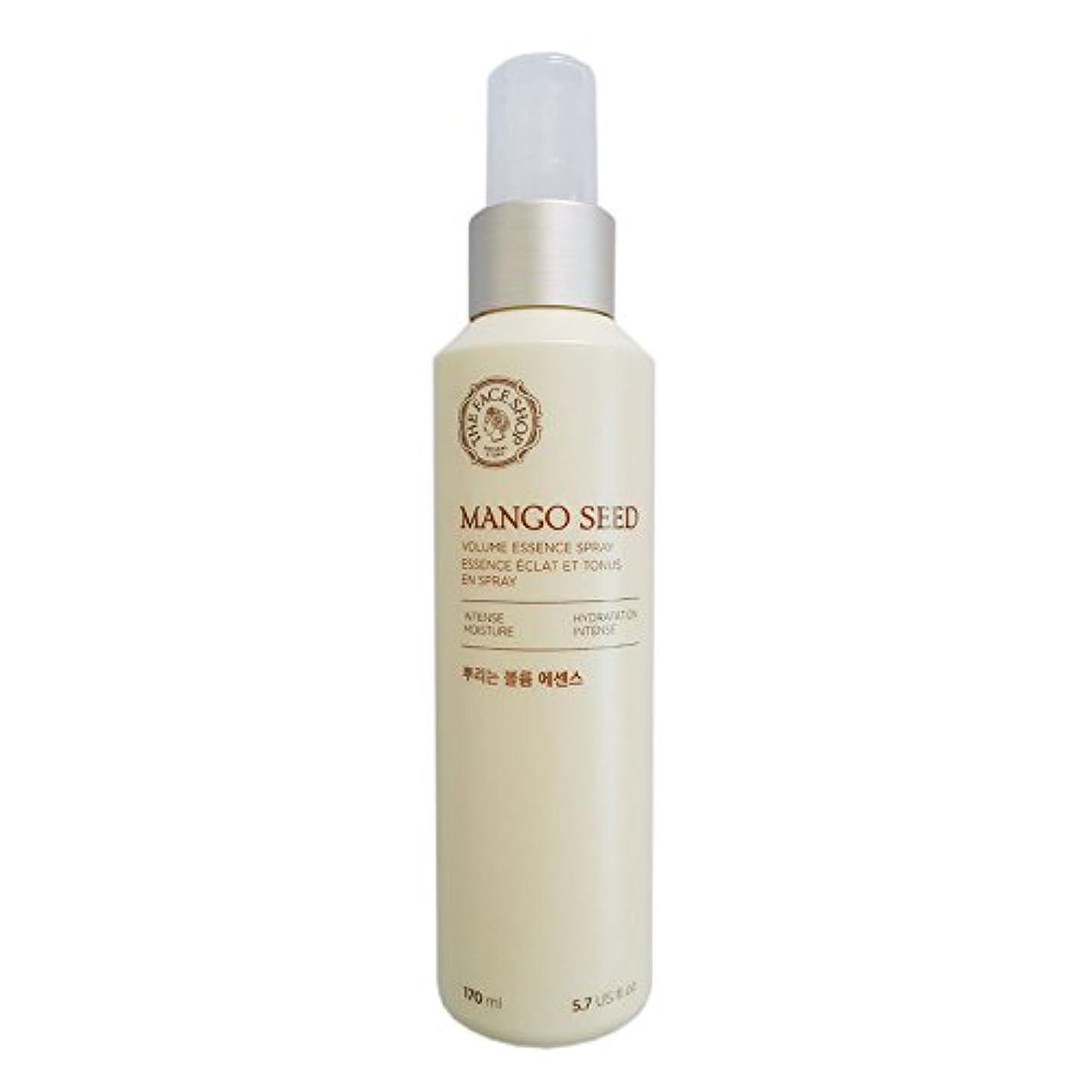 平和平和的光電[ザフェイスショップ] THE FACE SHOP マンゴシードスプレーボリューム?エッセンス(170ml) The Face Shop Mango Seed Volume Essence Spray (170ml) [海外直送品]