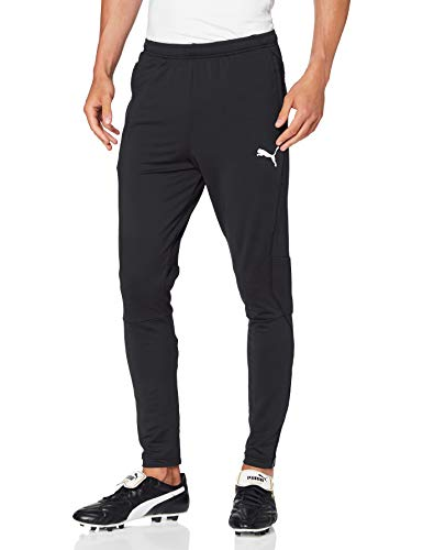 PUMA Herren LIGA Training Pants Pro Jogginghose, Black White, L