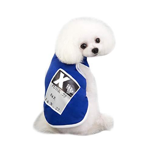 Koojawind Neue Ankunfts-Kleiner Hund Kleidet Welpen-Haustier-Baumwollweste-Hemd-Haustier-Kleidung Im FrüHling Sommer, Art Und Weise Entwarf Sportart-Kleidung FüR Hunde U. Katzen
