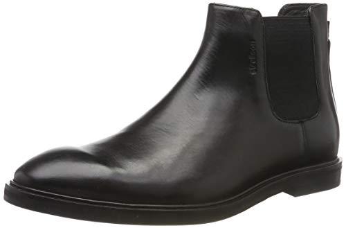 STRELLSON Herren Harley Chelsea Klassische Stiefel, Schwarz (Black 700), 41 EU