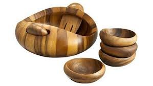 Nambe Pebble 7Pc Salad Set
