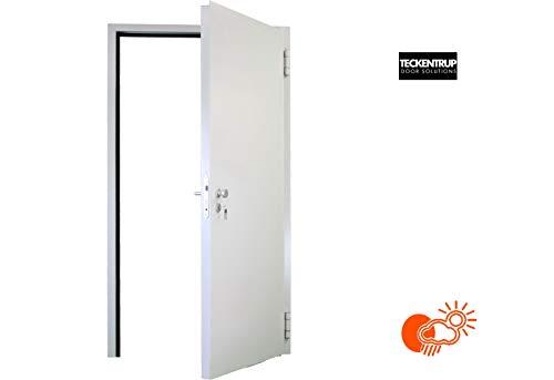 875x2000 rechts wärmegedämmte Mehrzwecktür, Nebeneingangstür massiv mit 62 mm Türblatt von Teckentrup