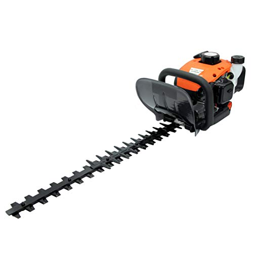 Kiam Sherwood H600 22.5cc Petrol Hedge Trimmer Cutter, 2 stroke, with Rotating Handle