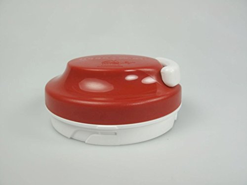 TUPPERWARE Extra Chef Couvercle rouge blanc