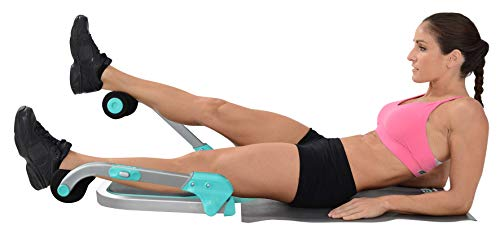 Product Image 3: Core Max 2.0 Smart Abs and Total Body Workout Cardio Home Gym , Teal/Grey
