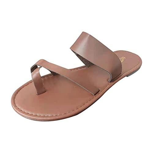 Sandalias de mujer con dedos separados, sandalias abiertas, sandalias planas, antideslizantes, sandalias de playa para mujer, chanclas de verano, sandalias para casa