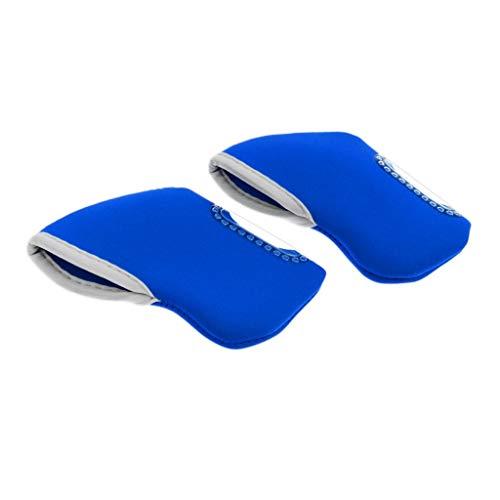 Inzopo 10 piezas de neopreno para palos de golf de hierro, cubierta protectora para la cabeza del calcetín Ping Taylormade Mizuno Callaway