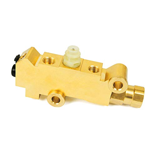 Replace 172-1353 PV2 PV4 Front Disc Rear Drum Combination-Proportioning Valve Compatible with GM Ford Mopar Chevy Car Truck