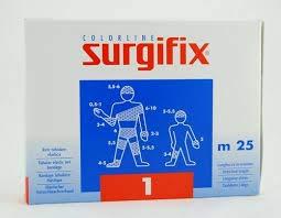 Surgifix Elastisches Schlauchnetz, 25 m Größe: 1 (ideal für Finger, Handgelenk)