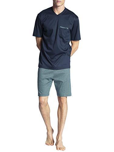 CALIDA Relax Selected Kurz-Pyjama Herren