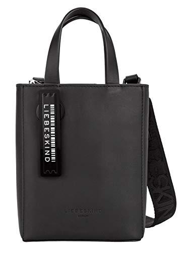 Liebeskind Berlin Damen Paper Bag Tote, black-9999, 13x17x5 cm