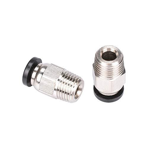 JIAN LIN 3D Printer Parts V6 Pneumatic Connectors Tube 1.75mm Filament J-head V6 Extruder