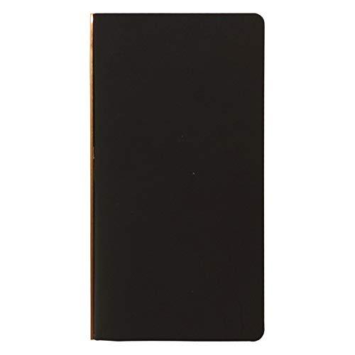 システム手帳 プロッター ナローサイズ Liscio/リスシオ 11mm【ブラック】レザーバインダー