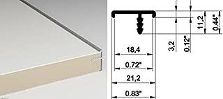 BRW Aluminum T Molding Edge Banding for Cabinet Doors