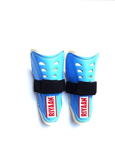 Star Sports king Kid's Shin Guard, 1 Pair (Blue)