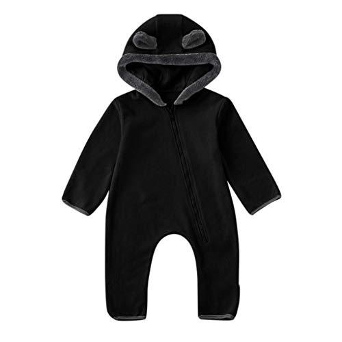 Holatee Bebé Ropa Mameluco Niños Niñas Pelele Pijama de Primavera y otoño Franela Traje Monos Outfits Peleles Calentar Abrigo Regalos
