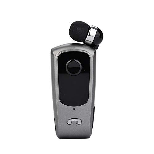 Inteligente retráctil Auricular Bluetooth Auricular Bluetooth negocios cancelación de ruido del micrófono en el oído impermeable for el teléfono celular de Iphone Samsung Android de negocios Oficina d