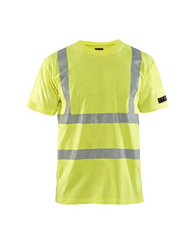 Blaklader High-Vis Multinorm T-Shirt 3480 - Herren Größe XXXL High Vis Gelb