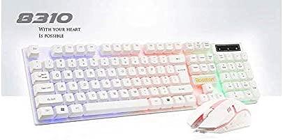 Blue Bridge Computer Tastatur Wired USB Tastatur und Maus Set Noteboht Keyboardok Gaming Lig  Wei   Junge Geschenk
