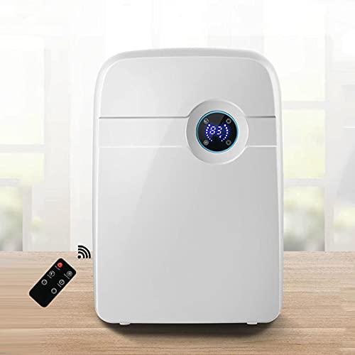 RENSHUYU Mini deumidificatore, con Serbatoio Acqua da 2,5 l, deumidificatore Elettrico LCD per Ambienti Fino a 30m² deumidificatore per Ambienti