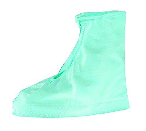 East Majik Femmes Filles Vert Pluie Couvre-Chaussures L Taille