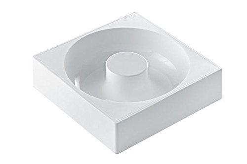 SAVARIN 180/1 – Moule en silicone Ø 180/60 H 50 mm Blanc