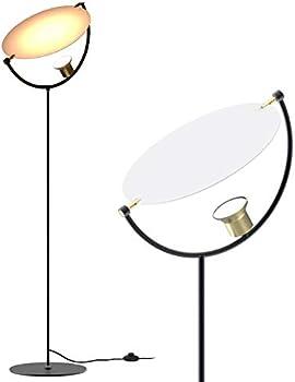 HX HECLX 8Watt LED Torchiere Floor Lamp