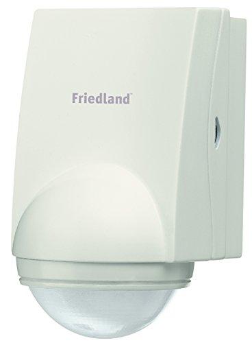 Friedland Spectra+ L630WHI Funkbewegungsmelder 140° ohne Empänger, weiß