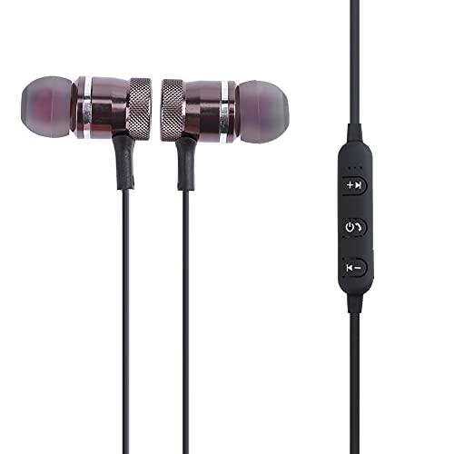 BoBoLily, Auriculares, auriculares Bluetooth 5.0, auriculares inalámbricos Bluetooth4.1 con imán para auriculares (color de pistola) 205853.02
