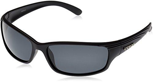 Ocean zonnebril Caparica zonnebril, gepolariseerd, montuur matzwart, glazen: rook (18030.0)