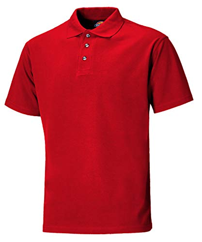 Dickies SH21220 BY XXL Maat 2X-Large Polo-Shirt - Bordeaux Rood