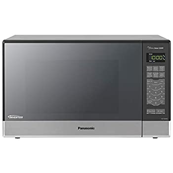 Panasonic Microwave Oven NN-SN686S Stainless Steel Countertop/Built-In with Inverter Technology and Genius Sensor 1.2 Cubic Foot 1200W