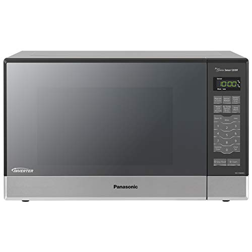 Panasonic NN-SN686S Countertop/Built-In Microwave with Inverter Technology, 1.2 cu. ft, 1200W, Stainless
