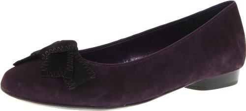 ara Women's Presley Flat,Purple Suede,11.5 M US
