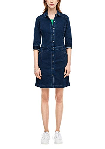 s.Oliver RED Label Damen Kleid aus Denim Blue 46
