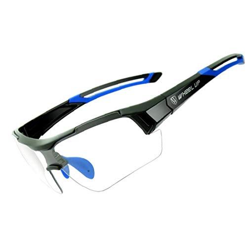 Gafas Ciclismo Fotocromáticas Deportes Gafas de Sol a Prueba de Viento de la Bici UV Protección Gafas