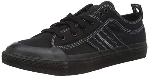 Diesel Herren S-astico Low Lace Sneaker, Schwarz Black T8013 Pr012, 42 EU