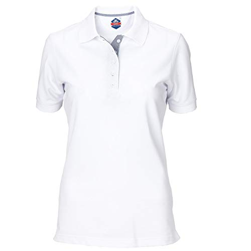 BIG BANG CORPORATE APPAREL Camisa Tipo Polo para Mujer, Polo Sport, Uniforme Blanco, Playera Corporativa…