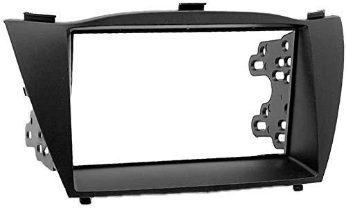 ZGYQGOO 11-070 Kit di Montaggio per Installazione autoradio Trim Fascia per Hyundai iX-35, Tucson IX 2010+