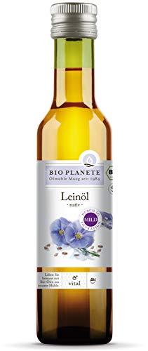 Bio Planete Bio Leinöl nativ 3D-Filtration (2 x 250 ml)
