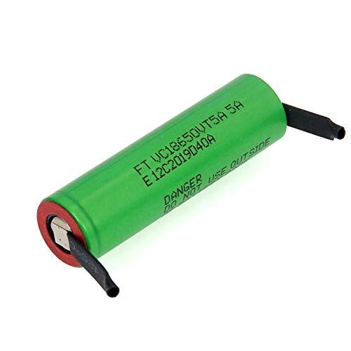 MeGgyc 2600mAh 18650 Batería de Litio 30A Baterías 18650VTC5 de Descarga 3PCSbattery