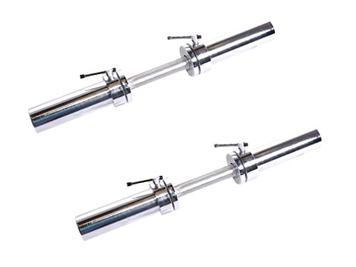 CAP Barbell Solid 20-Inch Dumbbell Handle, Pair (Olympic - Pair)