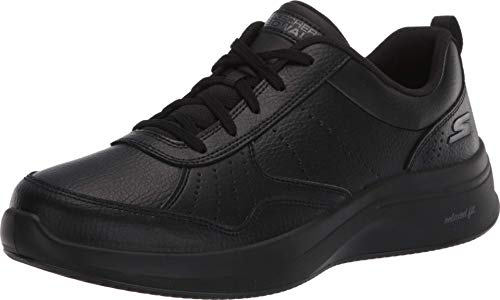 Skechers Damen Go Walk Steady Sneaker, Black, 41 EU