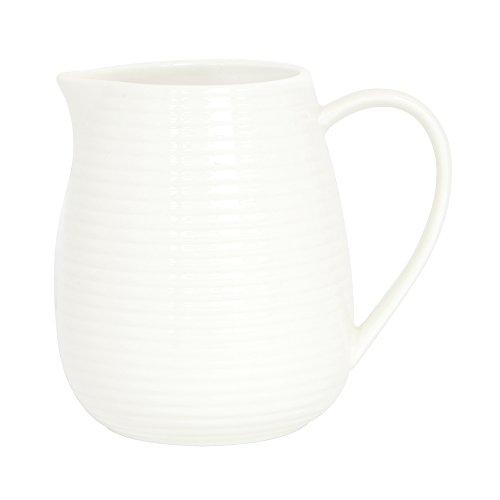 ProCook Kanne - Milchkännchen - Porzellan - 1l - weiß