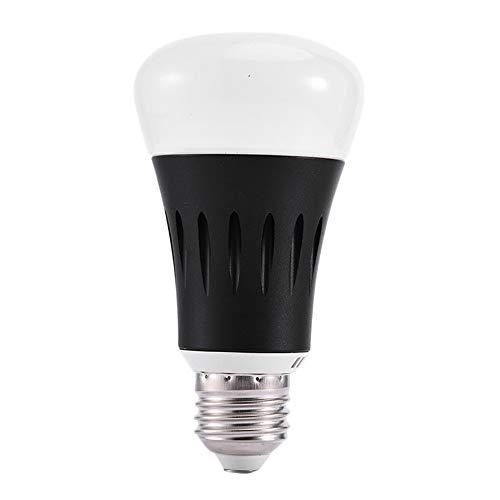 ACEHE Luz de Bombilla LED Control de Voz Aplicación de teléfono móvil Atenuación Luz de Bombilla LED WiFi Inteligente Control Remoto de Larga Distancia Interruptor de retardo de Tiempo (E27)
