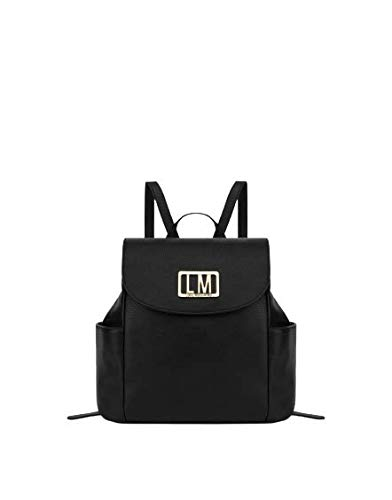 Love Moschino Colección SS21 - Bolso tipo mochila para mujer, color negro, tamaño mediano