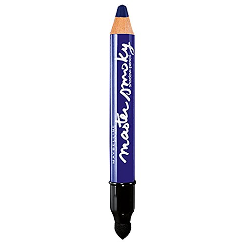 Maybelline New York Lidschatten-Stift Master Smoky Smoky Navy / Eyeshadow Pencil Blau für Smokey...