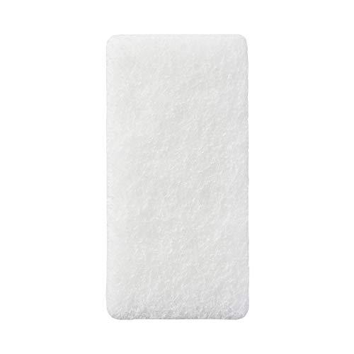 無印良品 ウレタンフォーム 三層スポンジ 幅6×奥行12×高さ3.5cm 15822195 白