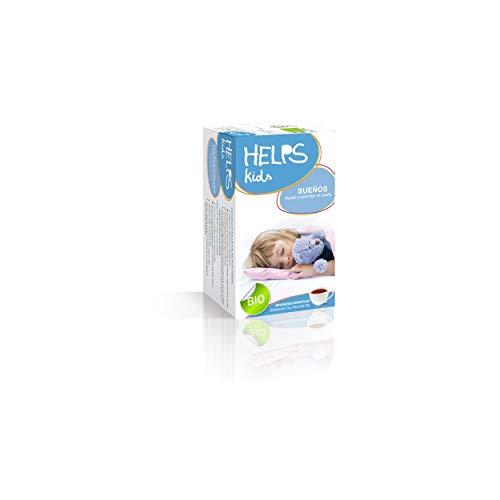 HELPS INFUSIONS - Infusion pour les enfants et les bébés se relaxant avec Melissa et Rooibos. Cela les aide à mieux dormir. Aide les rêves. Boîte de 20 sachets.