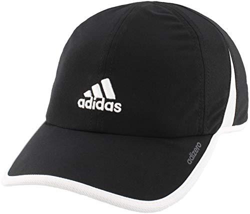 adidas Women's Adizero II Cap, Black/White, ONE SIZE